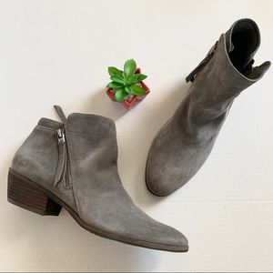 Sam Edelman Packer Gray Booties